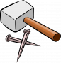 bwinf:hammer-and-nails.png